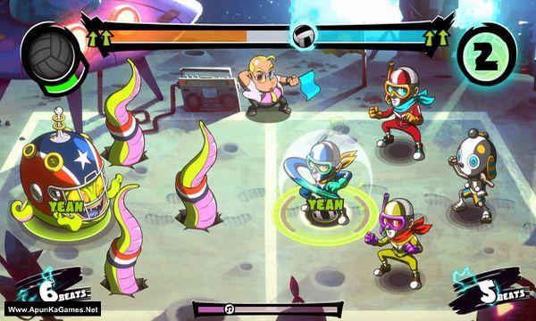 Super Dodgeball Beats Screenshot 2, Full Version, PC Game, Download Free
