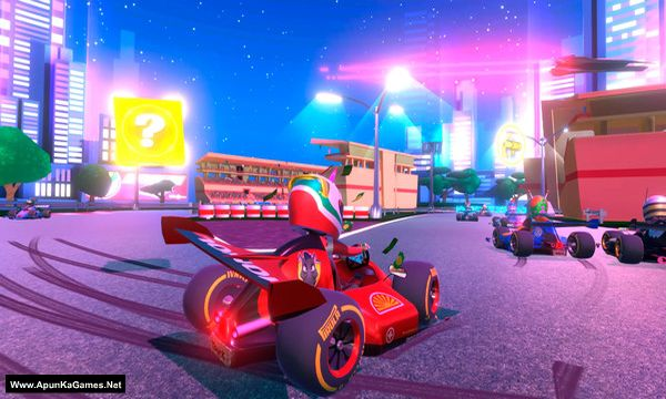 Touring Karts Screenshot 1, Full Version, PC Game, Download Free