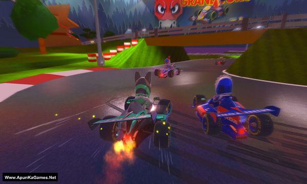 Touring Karts Screenshot 2, Full Version, PC Game, Download Free