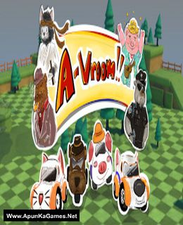 A-Vroom! Cover, Poster, Full Version, PC Game, Download Free