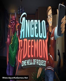 Angelo and Deemon: One Hell of a Quest Cover, Poster, Full Version, PC Game, Download Free