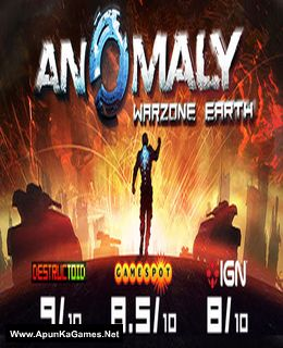 Anomaly: Warzone Earth Cover, Poster, Full Version, PC Game, Download Free