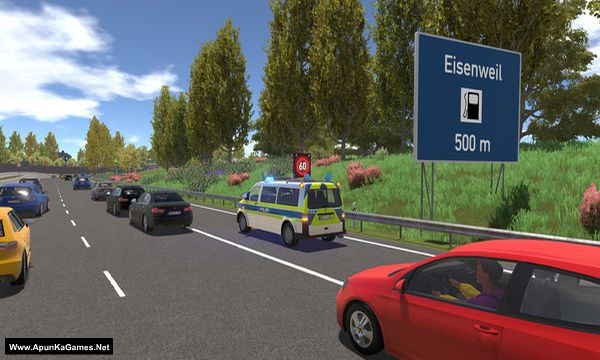 Autobahn Police Simulator 2 Screenshot 3, Full Version, PC Game, Download Free