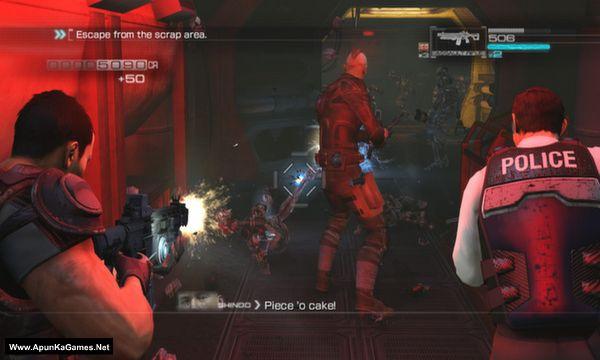 Binary Domain Screenshot 1, Full Version, PC Game, Download Free