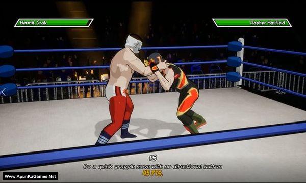 Chikara: Action Arcade Wrestling Screenshot 1, Full Version, PC Game, Download Free