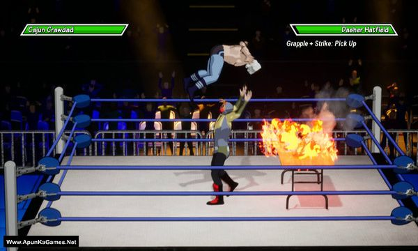 Chikara: Action Arcade Wrestling Screenshot 2, Full Version, PC Game, Download Free