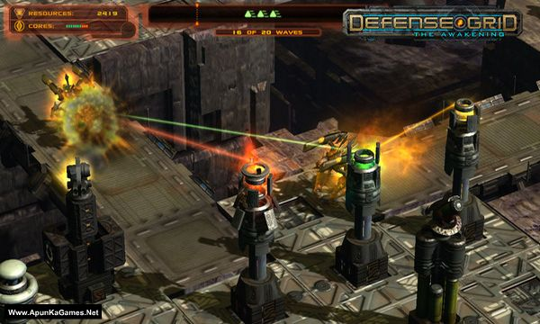 Defense Grid: The Awakening Screenshot 2, Full Version, PC Game, Download Free