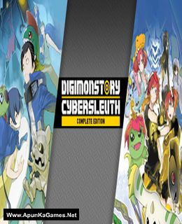 Digimon Story Cyber Sleuth: Complete Edition Cover, Poster, Full Version, PC Game, Download Free