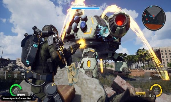 Earth Defense Force: Iron Rain Screenshot 1, Full Version, PC Game, Download Free