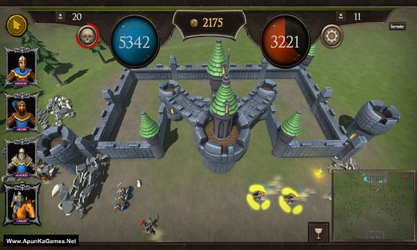 Fallen Empires Screenshot 3, Full Version, PC Game, Download Free