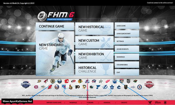 Franchise Hockey Manager 6 Screenshot 1, Full Version, PC Game, Download Free