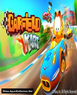 Garfield Kart Cover, Poster, Full Version, PC Game, Download Free