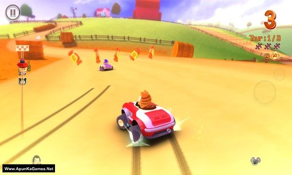 Garfield Kart Screenshot 2, Full Version, PC Game, Download Free