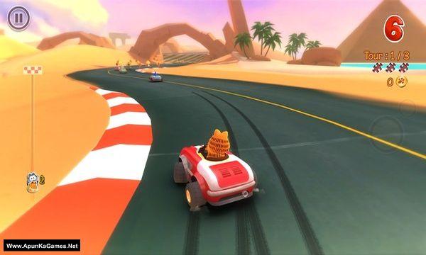 Garfield Kart Screenshot 3, Full Version, PC Game, Download Free