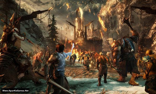 Middle-earth: Shadow of War Definitive Edition Screenshot 1, Full Version, PC Game, Download Free