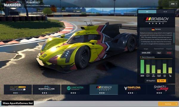 Motorsport Manager - Endurance Series Screenshot 1, Full Version, PC Game, Download Free
