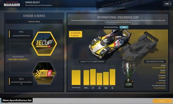 Motorsport Manager - Endurance Series Screenshot 3, Full Version, PC Game, Download Free