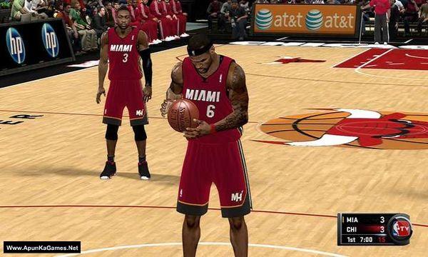 NBA 2K11 Screenshot 2, Full Version, PC Game, Download Free