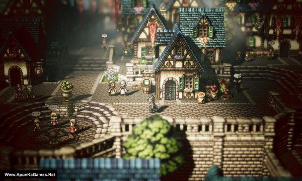 Octopath Traveler Screenshot 1, Full Version, PC Game, Download Free