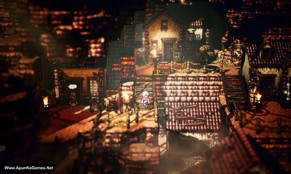Octopath Traveler Screenshot 2, Full Version, PC Game, Download Free
