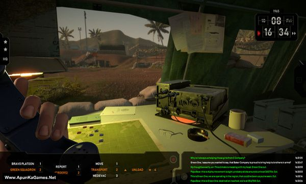 Radio Commander Screenshot 1, Full Version, PC Game, Download Free