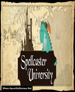 Spellcaster University Cover, Poster, Full Version, PC Game, Download Free