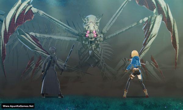 Sword Art Online: Hollow Fragment Screenshot 1, Full Version, PC Game, Download Free