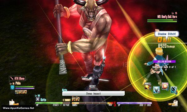 Sword Art Online: Hollow Fragment Screenshot 3, Full Version, PC Game, Download Free