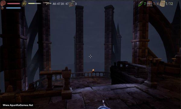 Vugluskr: Zombie Rampage Screenshot 1, Full Version, PC Game, Download Free