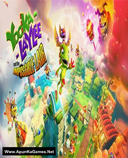Yooka-Laylee and the Impossible Lair Cover, Poster, Full Version, PC Game, Download Free