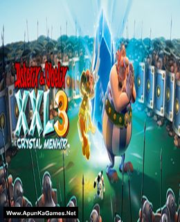 Asterix and Obelix XXL 3 - The Crystal Menhir Cover, Poster, Full Version, PC Game, Download Free