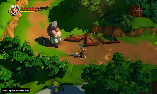 Asterix and Obelix XXL 3 - The Crystal Menhir Screenshot 1, Full Version, PC Game, Download Free