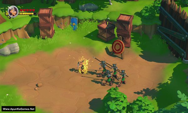 Asterix and Obelix XXL 3 - The Crystal Menhir Screenshot 2, Full Version, PC Game, Download Free