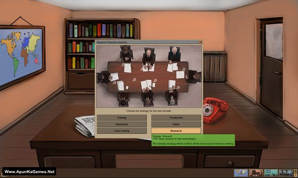 Automobile Tycoon Screenshot 1, Full Version, PC Game, Download Free