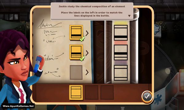 Detective Jackie - Mystic Case Screenshot 2, Full Version, PC Game, Download Free