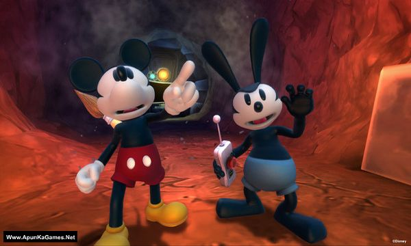 Disney Epic Mickey 2: The Power of Two Screenshot 1, Full Version, PC Game, Download Free