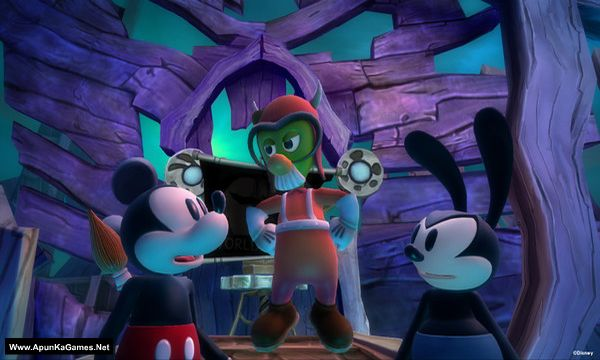 Disney Epic Mickey 2: The Power of Two Screenshot 2, Full Version, PC Game, Download Free