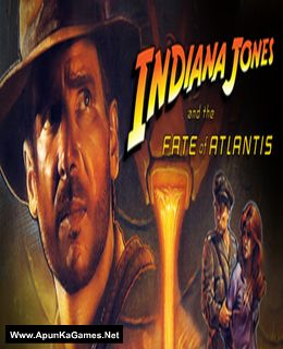 Indiana Jones and the Fate of Atlantis Cover, Poster, Full Version, PC Game, Download Free