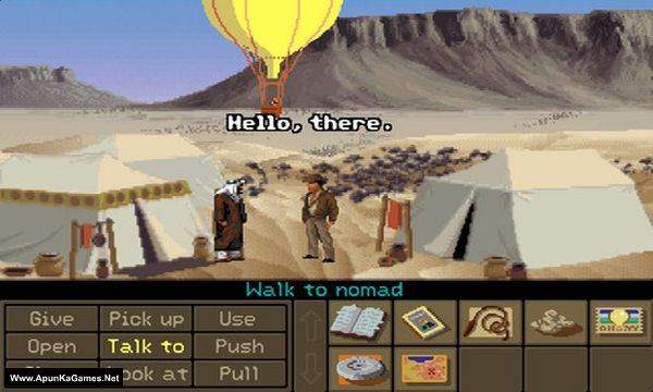 Indiana Jones and the Fate of Atlantis Screenshot 1, Full Version, PC Game, Download Free