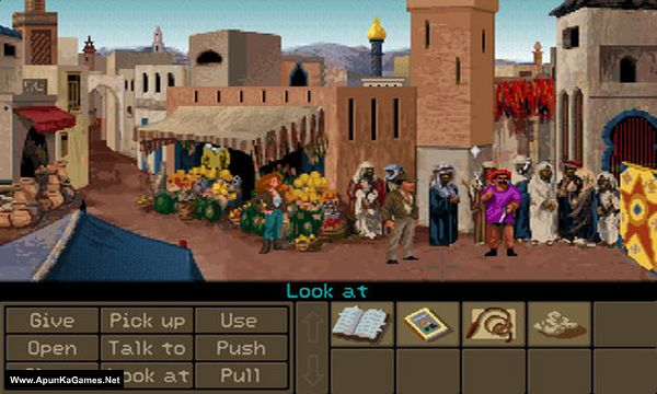Indiana Jones and the Fate of Atlantis Screenshot 3, Full Version, PC Game, Download Free