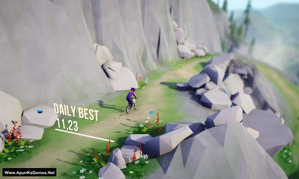 Lonely Mountains: Downhill Screenshot 1, Full Version, PC Game, Download Free