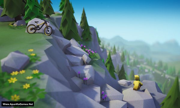 Lonely Mountains: Downhill Screenshot 3, Full Version, PC Game, Download Free