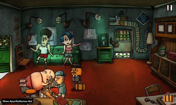 Mr. Pumpkin 2: Kowloon walled city Screenshot 1, Full Version, PC Game, Download Free
