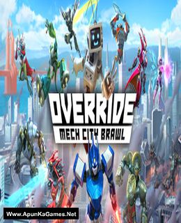 Override: Mech City Brawl Cover, Poster, Full Version, PC Game, Download Free