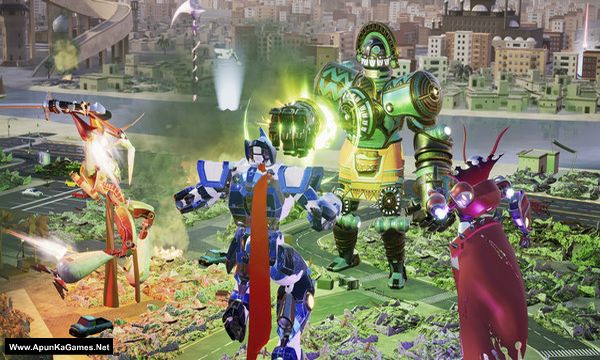 Override: Mech City Brawl Screenshot 2, Full Version, PC Game, Download Free