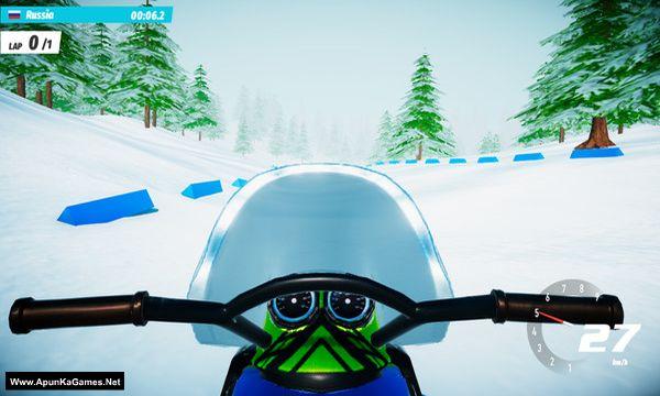Ski Drive: Biathlon Screenshot 1, Full Version, PC Game, Download Free