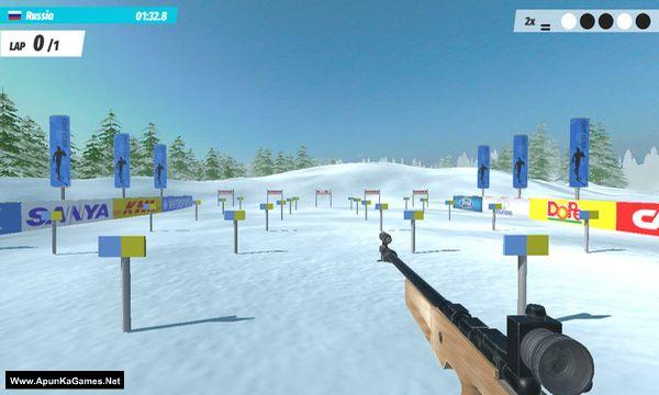 Ski Drive: Biathlon Screenshot 2, Full Version, PC Game, Download Free