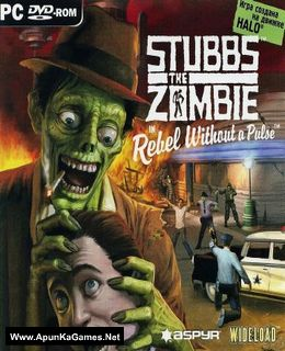Stubbs the Zombie in Rebel Without a Pulse Cover, Poster, Full Version, PC Game, Download Free