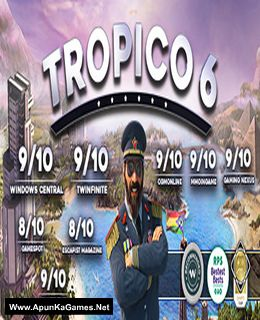 Tropico 6 Cover, Poster, Full Version, PC Game, Download Free