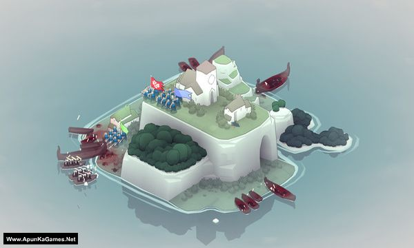 Bad North: Jotunn Edition Screenshot 1, Full Version, PC Game, Download Free